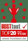 Top 20 | Hosttest Nov 2020